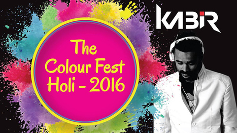 Come and join for the biggest, brightest and colourful fest - The Colour Fest - Holi 2016   Black Poison Tattoos   Scoop.it