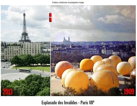 Paris 1900-2013en photos: 10nouveaux voyages dans notre fabuleuse machine à remonter le temps - Rue89 | Nos Racines | Scoop.it