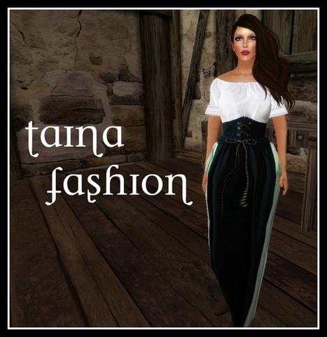 Medieval Gown Promo by Taina Fashion   Teleport Hub - Second Life Freebies   Second Life Freebies   Scoop.it