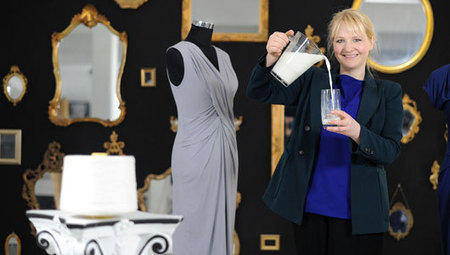 German fashion designer makes clothes from milk | Transition Culture | Scoop.it