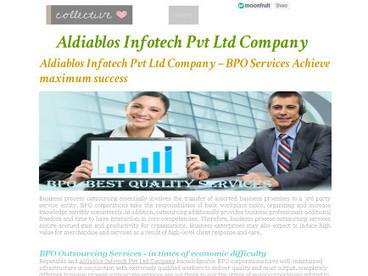 Aldiablos Infotech Pvt Ltd Company – BPO Services Achieve maximum success | Aldia|blos Infotech | Scoop.it