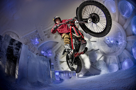 Dougie Lampkin Rides The Tundra Trial | Future Motorcycling to Infinity and Beyond! | Scoop.it