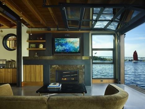 Maison flottante par Northwest Architects.   Architecture pour tous   Scoop.it