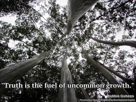 Truth is the fuel of uncommon growth | digitalNow | Scoop.it