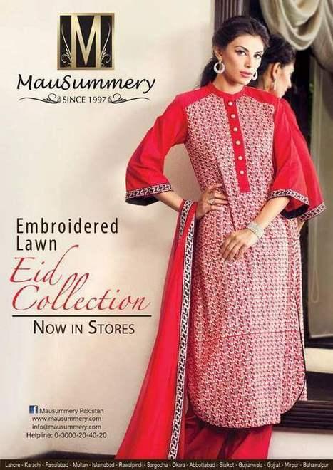 Mausummery  Stylish Dress Collection on Eid-ul-Adha  2013 (3) | fashion | Scoop.it