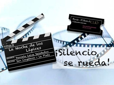 ¡Silencio, se rueda!  Cine y  Realidad Aumentada | REALIDAD AUMENTADA Y ENSEÑANZA 3.0 - AUGMENTED REALITY AND TEACHING 3.0 | Scoop.it