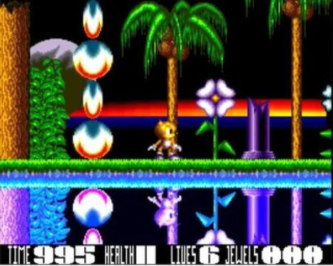 Blaze, un clone de Sonic exhumé sur Amiga ! | Geek in your face | Scoop.it