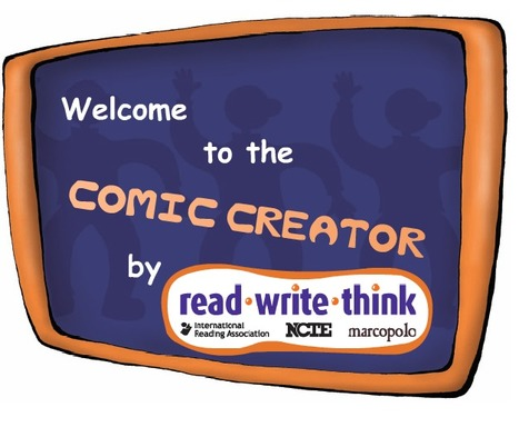 ReadWriteThink: Comic Creator | Education | Scoop.it