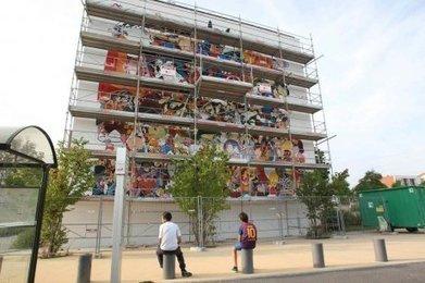 Angoulême : le mur des héros retrouve enfin ses couleurs - Sud Ouest | CITECREATION | Scoop.it