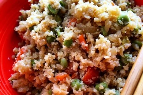 Cauliflower Fried Rice [Vegan, Gluten-Free] | My Vegan recipes | Scoop.it