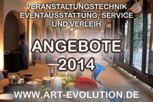 Art Evolution Service - Veranstaltungstechnik - Angebote | www.art-evolution.de | Scoop.it