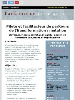 Premier module de FacilitaKteur : 25 au 27 juin 2014 - save the date | Conscience - Sagesse - Transformation - IC - Mutation | Scoop.it