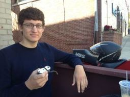 Young Valpo entrepreneur develops eco-friendly skateboard motor - nwitimes.com | Esportes | Scoop.it