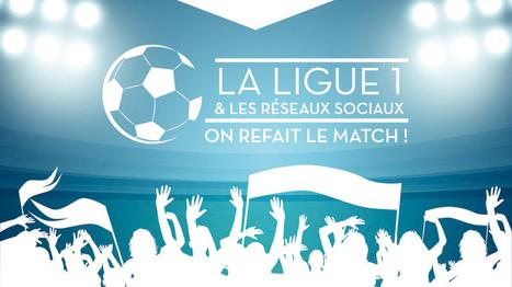 Infographie : qui sont les meilleurs clubs de Ligue 1 sur les réseaux sociaux ? | Réseaux sociaux, TV & Sport | Scoop.it