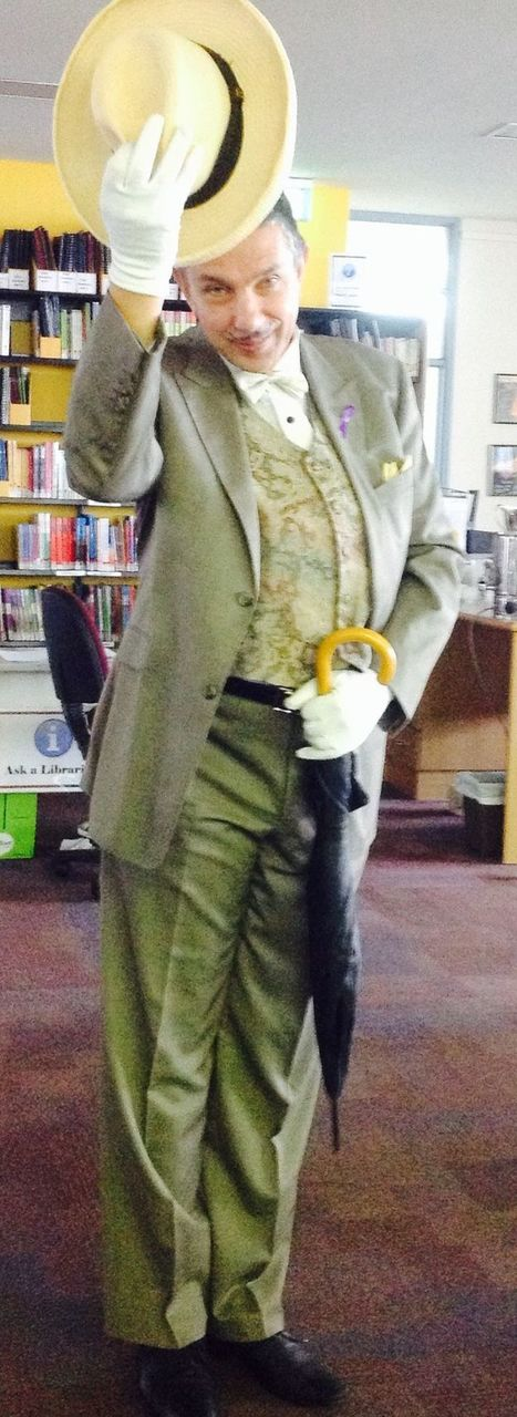 We love to dress up as literary characters #bookweek | What is a teacher librarian? | Scoop.it