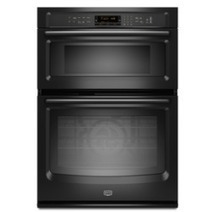 Black Friday 2013 Maytag 30 in Self Cleaning Convection Microwave Wall Oven Combo Black MMW9730AB @ Lowe's | Microwave Convection Oven Combo | Scoop.it