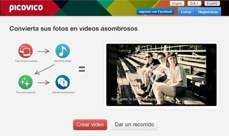 Picovico, aplicación web para hacer vídeos con fotos | Gelarako erremintak 2.0 | Scoop.it