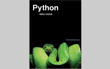 Python para todos: eBook gratis para aprender a programar en Python | Searching & sharing | Scoop.it
