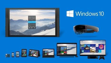 Windows 10 : En juillet sur PC, Tablettes et Xbox One ! | Les espaces publics numériques du Chesnay | Scoop.it