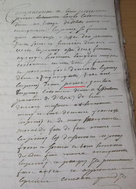 Un notaire qui s'emmêle les pinceaux dans les prénoms | Rhit Genealogie | Scoop.it