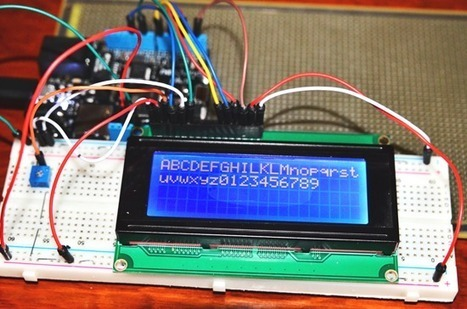 Netduino: Interfacing a Character LCD | Arduino progz | Scoop.it