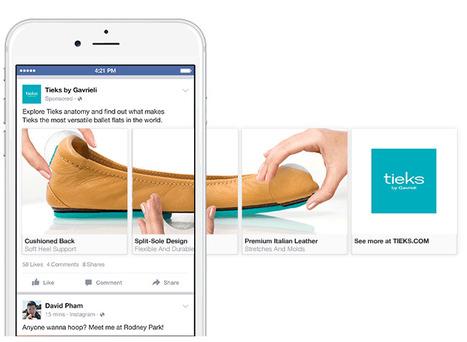 7 façons d'utiliser les publicités carrousel Facebook pour les entreprises | Web, Internet, NTIC, médias sociaux, outils, digital, numérique | Scoop.it