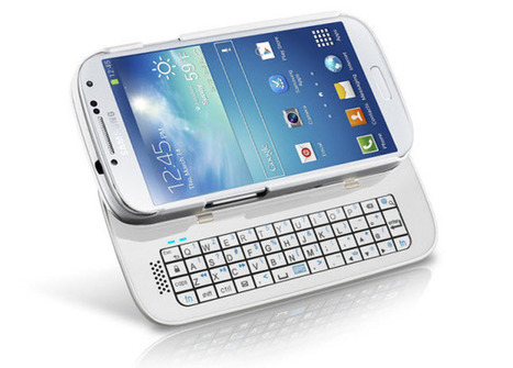Samsung Galaxy S4 slide-out keyboard case.. cool! | Android | Scoop.it