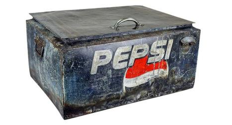 Old World Distressed Iron Pepsi Box | Old World Distressed Iron Pepsi Box | Scoop.it
