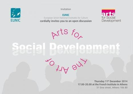 Arts for Social Development: The Art of Social Development | European Union National Institutes for Culture | ALTO FEST International Performing Art since 2011 | Scoop.it