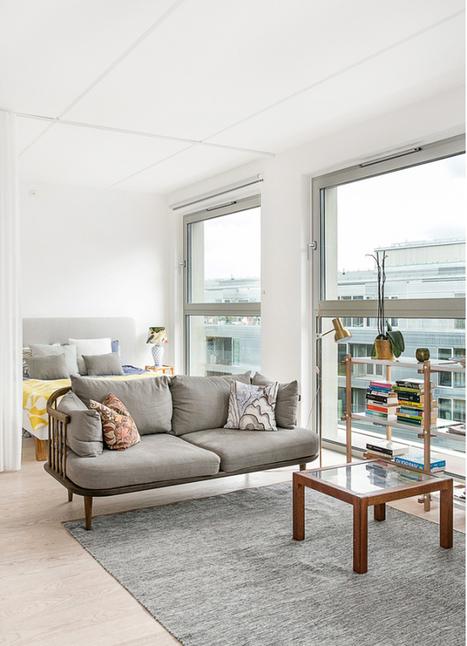 Je dors dans le salon | PLANETE DECO a homes world | La décoration : les tendances | Scoop.it