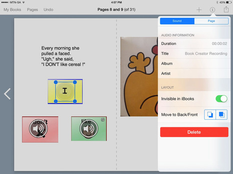 Book Creator and core vocabulary - Book Creator app | mobile learning in history education | Scoop.it