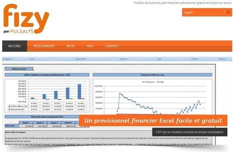 FISY 2015 FR est un Modèle de business plan financier prévisionnel gratuit et simple sur Excel   Logiciel Gratuit Licence Gratuite   Scoop.it