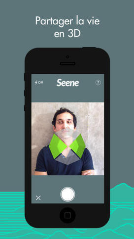 Seene, une application pour faire des photos 3D | Social Media Curation par Mon-Habitat-Web.com | Scoop.it