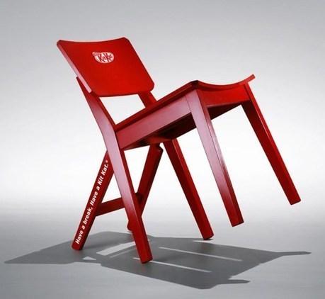 Kit Kat crea una silla para que te tomes un respiro | LOLAPublicity | Scoop.it