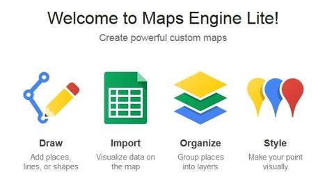 Cómo crear mapas con Google Maps Engine Lite   MappingGIS   TIG   Scoop.it