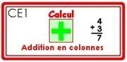 M - L'addition posée | Classe de CE1 | Scoop.it