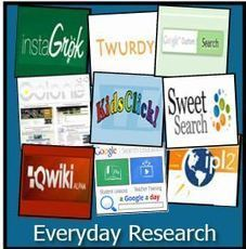 10 Free Tools for Everyday Research to Teach Search Skills | The Browse | Scoop.it