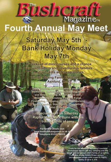 The Fourth Mayday Bushcraft Magazine Meet | Bushcraft Blog | Scoop.it