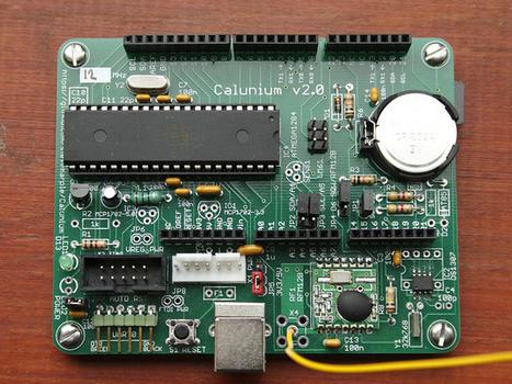 Calunium v2 | Arduino, Netduino, Rasperry Pi! | Scoop.it