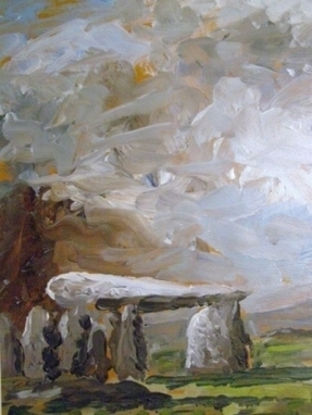 Artwork: Pentre Ifan - Open House Art | Art - Crafts - Design | Scoop.it