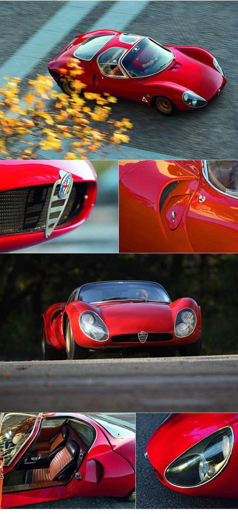 1967 Alfa Romeo T33 / 2 Stradale | Megadeluxe | Photo-graphics | Scoop.it