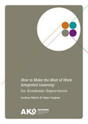 How to make the most of work-integrated learning - Ako Aotearoa | Mobilization of Learning | Scoop.it