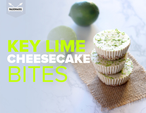 Key Lime Cheesecake Bites | Nutrition & Recipes | Scoop.it