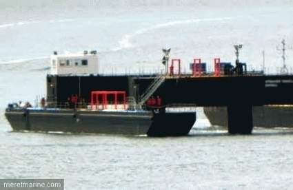 STX Lorient livre la barge commandée par OpenHydro | Mer et Marine | EMR | Scoop.it