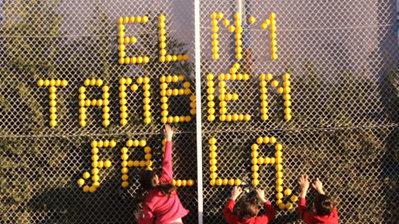 Mensaje en la valla de la pista de tenis - TV Anuncios   Deportes   Scoop.it