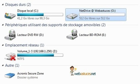 NetDrive : Mappez vos FTP sur un disque virtuel local | formation 2.0 | Scoop.it