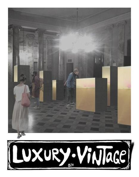 "Luxury Vintage Workshop® show at the Creativity Expo ""Fabriano Maker City"" (AN - Marche Region, Italy) Sept. 4-7 '14 