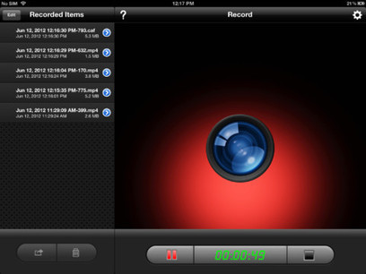 Display Recorder App to Video-Capture Your iPad! | iPads | Scoop.it