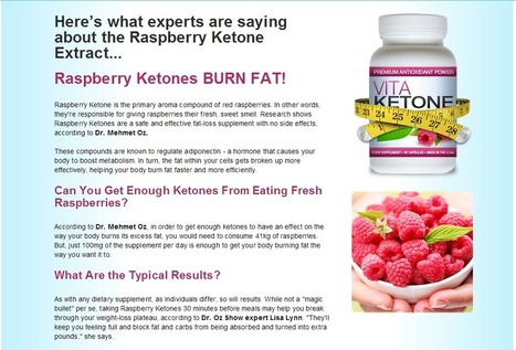 Vita Ketone Review - Get Your Risk Free Trial | Weight loss Supplement | Scoop.it