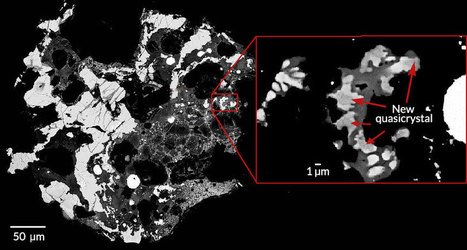 """Third kind of """"impossible"""" quasicrystal found in Russian meteorite   Communication design   Scoop.it"""